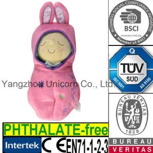 Soft Stuffed Animal Snuggle Pod Peanut Plush Toy Baby Doll pictures & photos