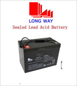 12V90ah Hotsale Rechargeable Sealed Lead Acid Battery pictures & photos
