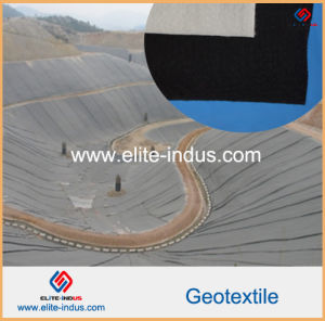 Embankment Thermally Bonded PP Nonwoven Geotextile Fabric pictures & photos