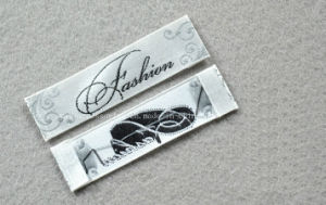 Satin Woven Label for Garment (PP-W2-04) pictures & photos