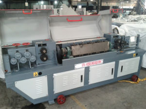 Automatic Steel Coil Rod Straighten and Cut Machine pictures & photos
