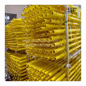 Powder Coated Yellow Ringlock Scaffolding pictures & photos