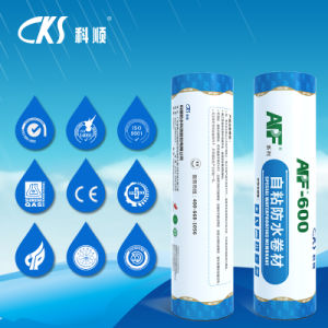 Apf-600 Wet/Pre-Applied Modified Bitumen Waterproof Membrane with Polyester Re-Enforcement pictures & photos