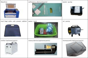 3050 Portable Laser Cutting Machine/ Laser Cutting Machine for Marquetry/ Wood/ Acrylic pictures & photos