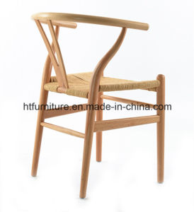 Wishbone Back Wood Dining Chairs pictures & photos