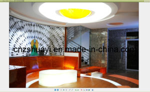 Translucent Resin Panel Stone for Ceiling pictures & photos