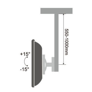 "TV Ceiling Mount for 13""-27"" pictures & photos"