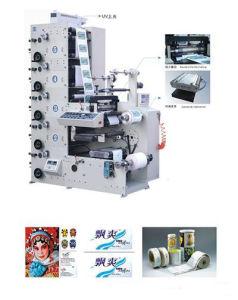 Rtry-450e 5 Colour Flexographic Self Adhesive Flexo Label Printing Press pictures & photos