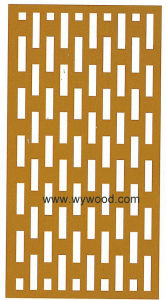 MDF Carved Panel (WY-02) pictures & photos