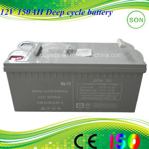 12V 150ah Solar Energy Battery Power pictures & photos