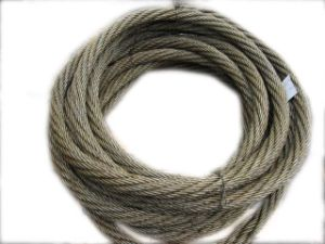 Dia 22mm 18*19+FC Steel Wire Rope for Lashing