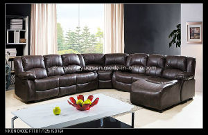 2015 Home Furniture Recliner Sectional Sofa with Chaise