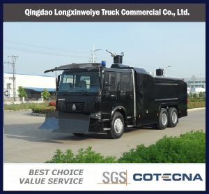 HOWO 6X4 Anti Riot Water Cannon Truck pictures & photos