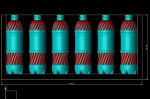 Full Automatic 6 Cavity Pet Bottle Blow Moulding Machine pictures & photos