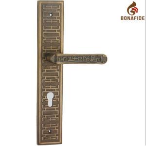 High Quality Full Zinc Door Lock Handle-046 pictures & photos