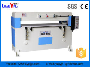 Factory Direct Hydraulic 4-Column Plane PVC Cutting Press Machine/Leather Cutting Machine pictures & photos