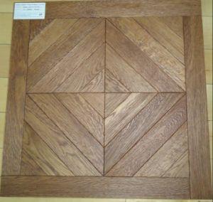 Versaille Oak Wood Parquet Floor / Mosaic Hardwood Flooring pictures & photos