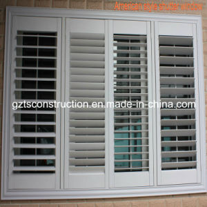High Quality and Competitive Price American Style Shutter Window (TS-141) pictures & photos