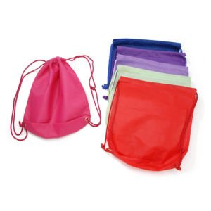 Nonwoven Sports Bag in 6 Assorted Colors pictures & photos