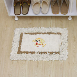 Anti-Slip Home Textile Bath Mat, Cotton Backing (Cot0100) pictures & photos