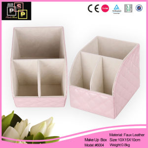 Three Tier Makeup Organizer in Lovely Pink (6004) pictures & photos