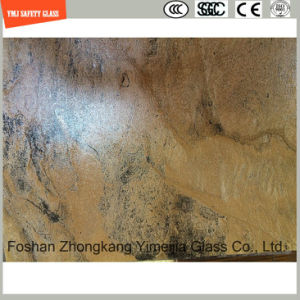 3-19mm UV-Resistant Silkscreen Print/Acid Etch/Frosted/Pattern Flat/Bent Tempered/Toughened Glass for Outdoor Table Top, Outdoor Decoration with SGCC/Ce pictures & photos