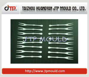 Multi-Cavities Small Plastic Fork Mould pictures & photos