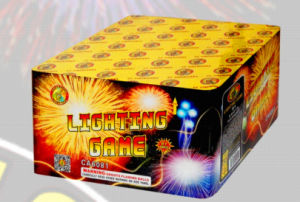 81s Lighting Game New Year Celebration Cake pictures & photos