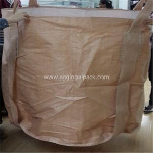 Japan Market Beige PP Woven FIBC pictures & photos