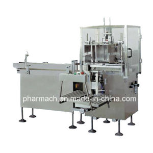 Model Zx120 Semi-Automatic Case Cartoning Sealing Machine pictures & photos