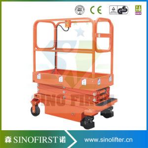 2m 1ton Mini Scissor Lift Platform Double Scissor Tables Lifter pictures & photos