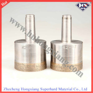 Glass Dril Bit-Straight Shank/Sintered Glass Drill Bit / Glass Hand Drill pictures & photos