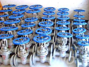 ANSI Wcb Body Rising Stem Handwheel Gate Valve pictures & photos