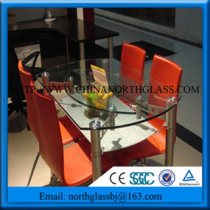 Glass Dining Table 10mm Safety Tempered Glass Table pictures & photos