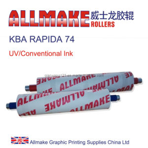UV/Conventional Combination Rollers for Printing Machine Kba (RAPIDA 74)