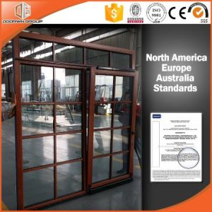 High Quality Chinese Tilt& Sliding Door with Colonial Bars pictures & photos