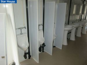 Toilet Container, Made of Steel, Suitable for Various Required Layouts and Specifications pictures & photos