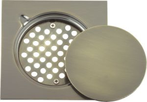 Stainless Steel Floor Drain Bronze Color 15cmx15cm/20cmx20cm (YD-S015)
