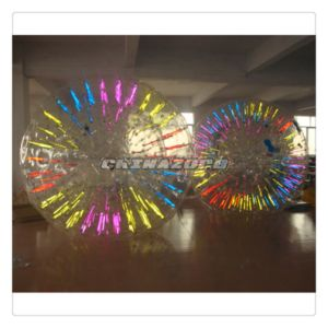 2.5/3m Color Mixed Glow Inflatable Zorb Roller Ball pictures & photos