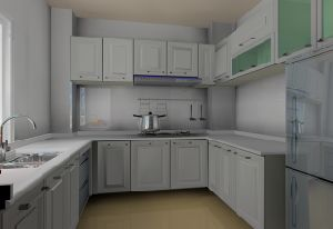 Standard Kitchen Furniture (WJ-K104)