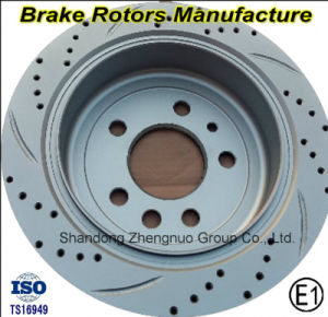 Hot Selling Rear Brake Disc for Mitsubishi Pajero pictures & photos