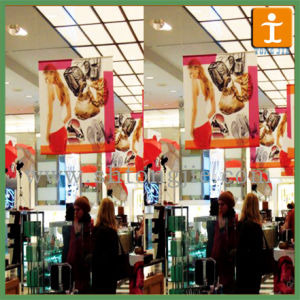 Customed Indoor Hanging Banner, Hanging Poster for Promotion (TJ-023) pictures & photos