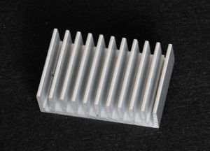 Aluminum Extruded Profile Heat Sink pictures & photos