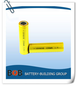 3.7V 2200mAh Lithium Battery Cell pictures & photos
