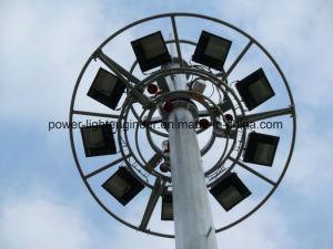 Steel Street Light Telecom GSM Antenna Monopole Tower pictures & photos