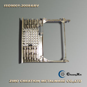 Aluminum Die Casting Servo Motor Radiator pictures & photos