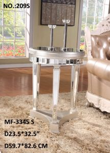 2017 Antique Gold & Silver Side Table pictures & photos