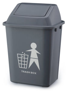Grey 20L Waste Trash Container pictures & photos