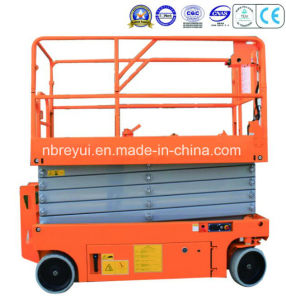 Auto-Travel Scissors Aerial Working Platform (MID size) pictures & photos