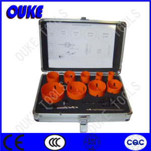 9PC HSS Bi-Metal Hole Saws Sets pictures & photos